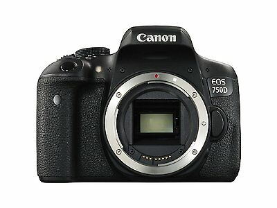 Canon EOS 750D 24.2MP Digital SLR Camera Body