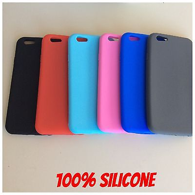 "Cover Custodia Per Iphone 6 6S 4,7"" Morbida In Silicone Tpu Ultraslim"