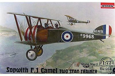 Roden 54 Sopwith T.F.1 Camel Two Seat Trainer in 1:72