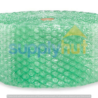 "1/2"" Recycled Large Bubble Cushioning Wrap Padding Roll 1000' x 12"" Wide 1000FT"