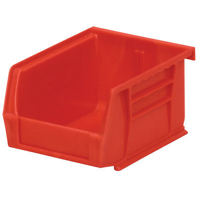 Akro-Mils AkroBin Stack & Hang Bin 5-3/8D x 4-1/8W x 3H Red  24 pack