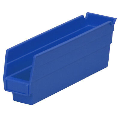 Akro-Mils Shelf Bin 11-5/8Dx 2 3/4W x 4H Blue  24 pack