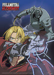 Full Metal Alchemist Ed Vs Alphonse Fabric Poster