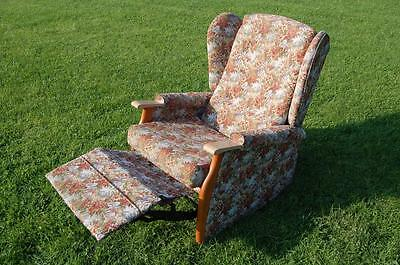 Smashing Tapestry Wingback Reclining Armchair - Upholstery Project?​