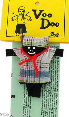 MALE VOODOO DOLL 100mm FULL INSTRUCTIONS Spell Wicca Hoodoo Pagan Witch Goth