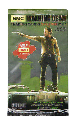 The Walking Dead TV Season 3 Collectible Trading Cards (1 Pack)