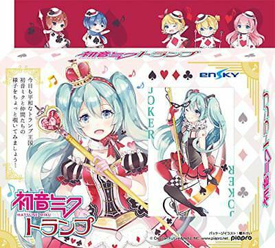 Vocaloid Hatsune Miku Playing Cards