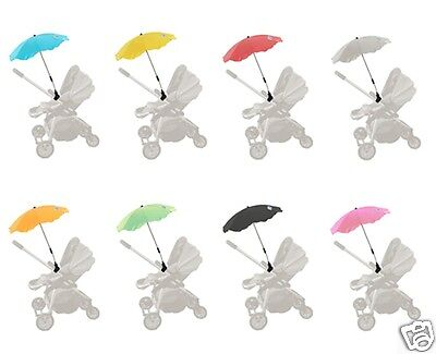 GOOSEBERRY UMBRELLA PRAM PARASOL SunShade Fits Bugaboo iCandy Steelcraft
