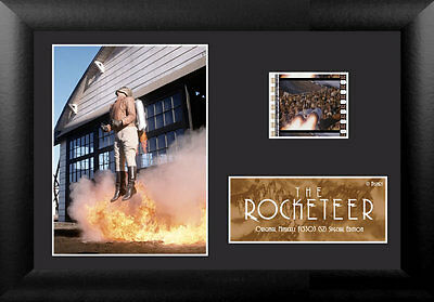 Film Cell Genuine 35mm Framed & Matted The Rocketeer Special Edition USFC5303