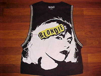 Blondie 2014 Sleeveless Crew Neck Tank Top Apparel M