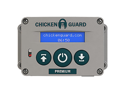 ChickenGuard Automatic Chicken Coop Door Opener ASTi Premium - Timer Sensor USA! & CHICKENGUARD AUTOMATIC CHICKEN Coop Door Opener ASTi Premium - Timer ...