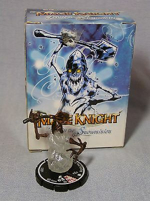 Mage Knight: 2004 Holiday Promo - FROSTY THE SNOWMAN (#X-004) MIB FREE SHIP!