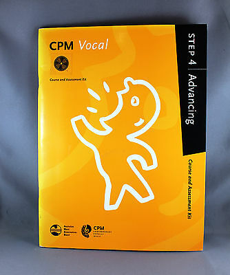 AMEB CPM Vocal Course & Assessment Kit and CD - Step 4 Advancing - Brand New