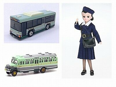 Takara Tomy Licca Doll & Tomica set Privilege limited for Shareholders 2014
