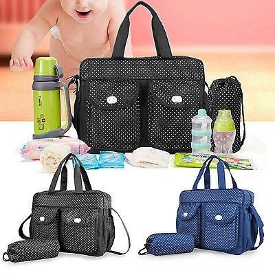3pcs Baby Nappy Changing Bags Set