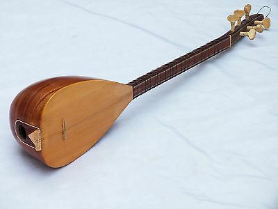 Turkish String Small Size Walnut  Beautiful Cura Saz New !!!!!!!!!!!
