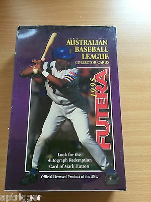 1995 Futera Australian League Baseball Factory sealed Box ( 40 packs )