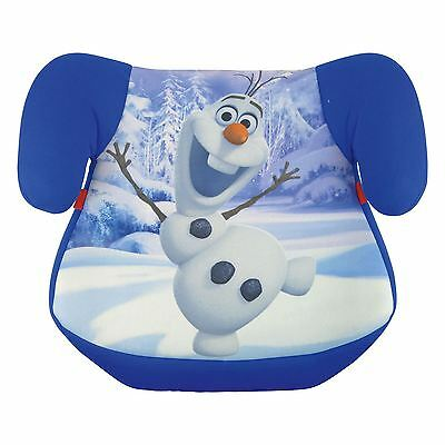 New Disney Frozen Childs Kids Booster Seat Olaf 15-36 Kg