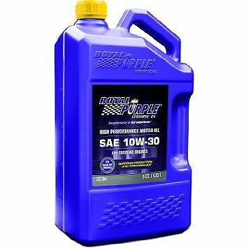 Royal Purple 51130 10W30 SAE Synthetic Motor Oil 5 Quart Jug With ZDDP Additives