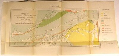 NE Arm & Vermilion Iron Ranges Lake Temagami 1904 Canada geological survey map