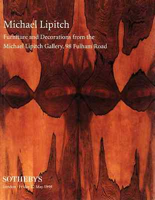Sotheby's Furniture & Decorations: Michael Lipitch Gallery Collection
