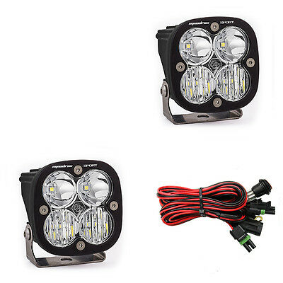 Baja Designs Squadron Sport LED Light Pair Combo Beam ATV UTV Truck XP1000 RZR