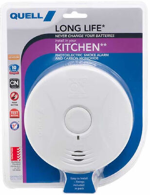 Smoke Alarm New Quell 10Year Worry Free Intelligent Photoelectric Alarm Detector