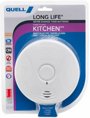 Smoke Alarm Quell 10Year Worry Free Intelligent PhotoelectricN Wiring