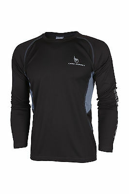 Cape Osprey Traverse Long Sleeve Mens T Shirt - After Dark -  FREE Coolmax socks