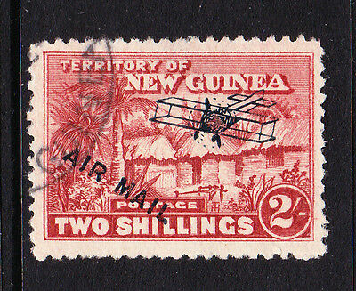 New Guinea 1931 Air 2/- Brown-Lake Sg 146 Fine Used.
