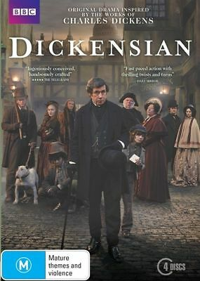 Dickensian DVD R4 BBC Charles Dickens New Sealed