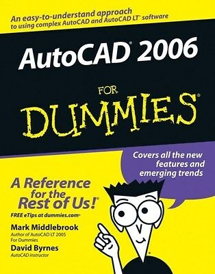 AutoCAD 2006 For Dummies 9780764589256 by Mark Middlebrook, Paperback, BRAND NEW