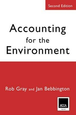 Accounting for the Environment 9780761971375 by Robert H. Gray, Paperback, NEW