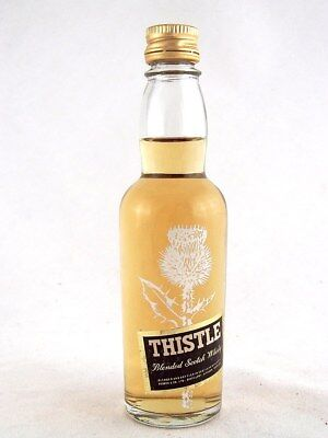Miniature @ 1982 THISTLE Scotch Whisky Isle of Wine