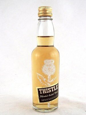 Miniature circa 1982 THISTLE Scotch Whisky Isle of Wine
