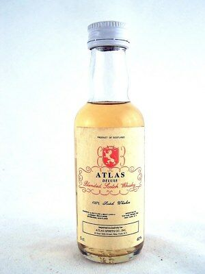 Miniature @ 1979 ATLAS Delux Scotch Whisky Isle of Wine