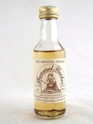 Miniature circa 1980 PHEASANT PLUCKER Deeside Scotch Whisky Isle of Wine