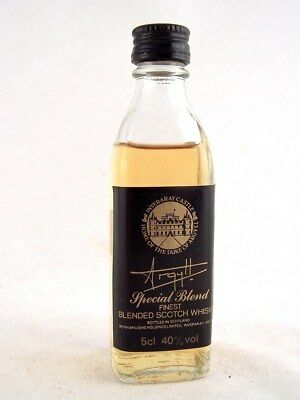 Miniature @ 1978 ARGYLL Special Blend Scotch Whisky Isle of Wine