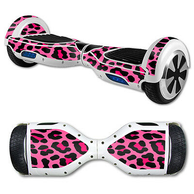 Skin Decal Wrap for Hover Board Balance Balancing Scooter Pink Leopard