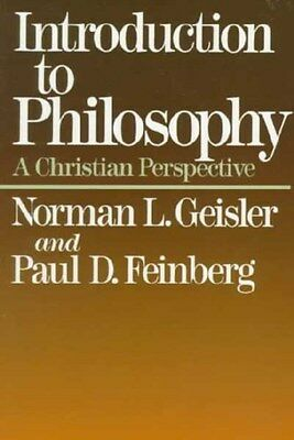Introduction to Philosophy: a Christian Perspective 9780801038181, Paperback