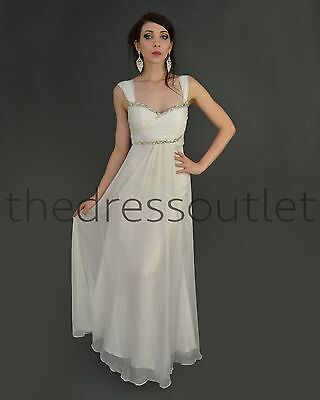 New Modest Cap Sleeve Chiffon Formal Plus Size Long Mother of the Bride Dress