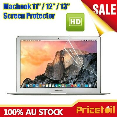 Ultra Clear LCD Screen Protector Film For Apple Macbook Pro 13'' inch Cover Skin