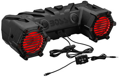 "Boss Audio 450W Bluetooth Amplified 6.5"" LED ATV Stereo Sound System ATV30BRGB"