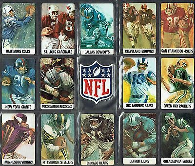 VINTAGE STANCRAFT/DAVE BOSS art (1966 NFL) PLAYING CARD COLLECTIBLE (EX+)