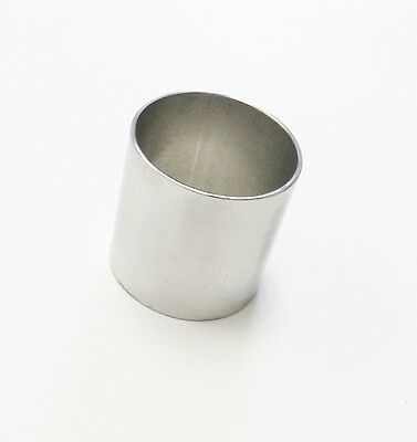 "DENTAL CASTING RING 2 x 2-1/2"" CASTING FLASK JEWELRY DENTAL LABORATORY STAINLESS"