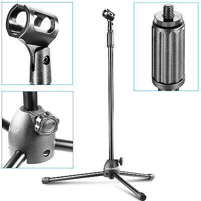 "NW-106 Folding Type Adjustable 32.5""-53"" / 83cm-135cm Microphone Tripod Stand"