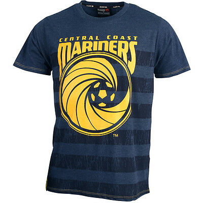 Central Coast Mariners 2015/16  Marle T Shirt Size S-5XL! A League Soccer!