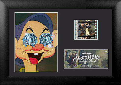 Film Cell Genuine 35mm Framed & Matted Disney Snow White S2 5657 Special Edition