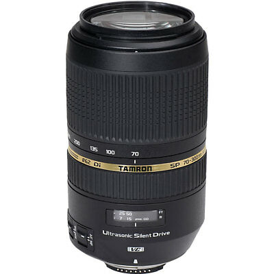 Tamron SP 70-300mm F4-5.6 Di VC USD Lens - Canon Fit