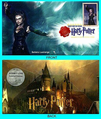 Harry Potter Bellatrix Lestrange  First Day Cover with Color Cancel Type 1